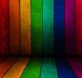 Rainbow board — Stock Photo