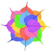 Bright leaves — Стоковое фото