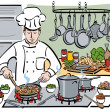The Consummate Chef - Imagen vectorial