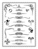 Ornamentos de diseño 2 — Vector de stock
