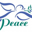 Stock Vector: Dove Peace