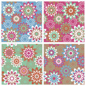 Floral Pattern_summer — Wektor stockowy