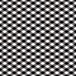 Gingham Pattern in Black - Stock Vector