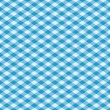 Gingham Pattern in Blue - Stock Vector