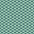 Gingham Pattern in Green - Stock Vector