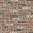 Grungy Brick Wall - Stock Vector