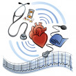 Heart Healthcare - Stock Vector