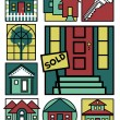 Home Icons Collection #2 - Stock Vector