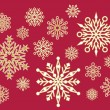 Lacy Snowflakes - Stock Vector