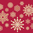 Lacy Snowflakes — Stock Vector