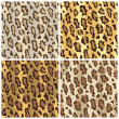 Royalty-Free Stock Vector Image: Leopard Spots Pattern