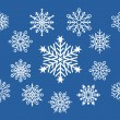 Little Snowflake Designs — Stock Vector