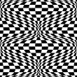 Op Art Background #2 - Stock Vector