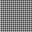 Royalty-Free Stock Vector Image: Pixel Houndstooth #1