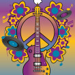 Royalty-Free Stock Vektorfiler: Tribute To Woodstock I