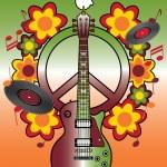 Woodstock Hommage ii — Stockvektor