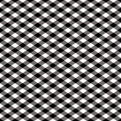 Gingham Pattern in Black — Stock Vector