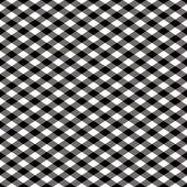 Gingham Pattern in Black — Stock Vector