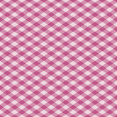 Gingham Pattern in Pink — Stock Vector