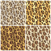 Leopard Spots Pattern — Stock Vector