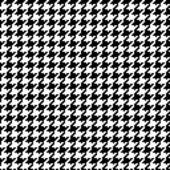 Pixel Houndstooth #1 — Vector de stock