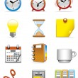 Office icons — Stock Photo #3887505