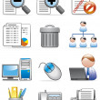 Royalty-Free Stock Photo: Office icons