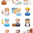 Occupations icons — Stockfoto #3888139