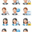 Stock Photo: User icons
