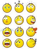 Emoticons — Stock Photo