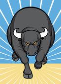 Bull attaquer — Photo