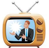 TV spot — Stock Photo