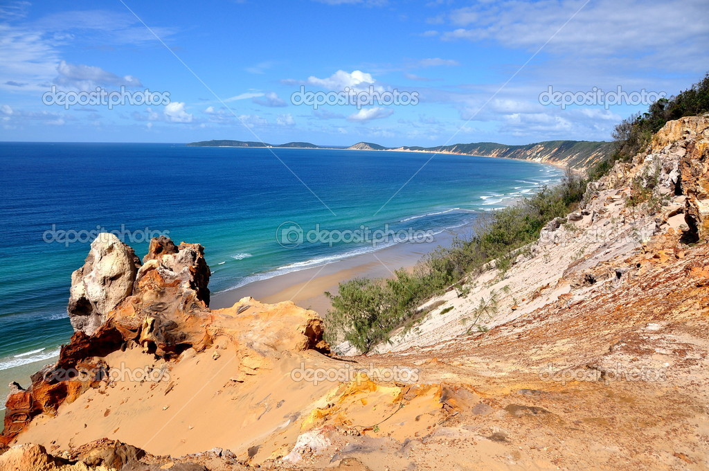 Rainbow Beach, Queensland, Australia. — Stock Photo #3555489