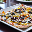Gourmet pizza — Photo #3600241