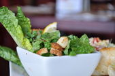 Fresh Caesar salad — Stock Photo