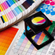 Stock Photo: Color management set