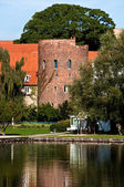 Castle ruin in Luebeck - Germany — Stock Photo