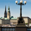 the alster of hamburg — Stock Photo