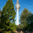 Television tower of Hamburg — Stock Photo