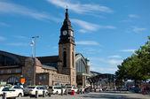 Estação principal de hamburgo — Foto Stock