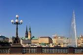 City of Hamburg — Stock Photo