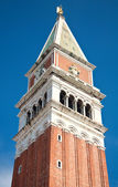 The Marcus tower in Venice — Stock Photo
