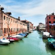 Stock Photo: Broad canal in Venice