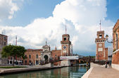 Venice Arsenale — Stock Photo