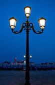 Blue hour in Venice — Stock Photo