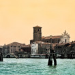 The church Chiesa dei Gesuiti in Venice - Stock Photo