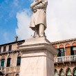 Stock Photo: Statue of Nicolo Tommaseo