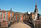 ハンブルク市橋 — ストック写真