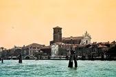 The church Chiesa dei Gesuiti in Venice — Stock Photo
