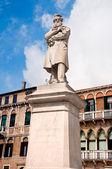 Pomnik nicolo tommaseo — Zdjęcie stockowe